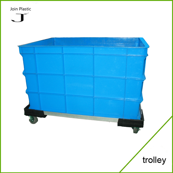 Plastic moving dolly